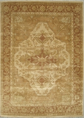 Eastern Weavers Turkish Treasures Beige Rust Persian Wool Rug