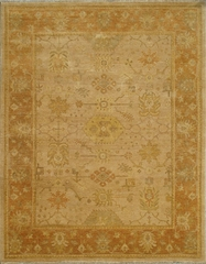 Eastern Weavers Turkish Treasures Beige Rust Wool Rug