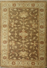 Eastern Weavers Turkish Treasures Brown Light Blue Persian Rug