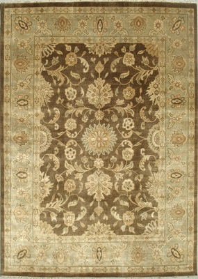 Eastern Weavers Turkish Treasures Brown Light Blue Persian Wool Rug