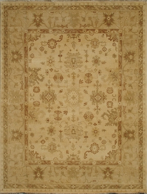 Eastern Weavers Turkish Treasures Gold Beige Persian Wool Rug