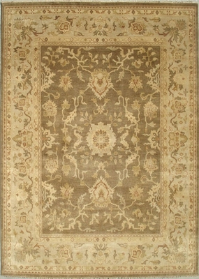 Eastern Weavers Turkish Treasures Hand Knotted Beige Ivory Persian Rug