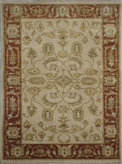 Eastern Weavers Turkish Treasures Hand Knotted Beige Rust Persian Rug