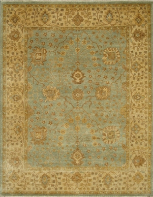 Eastern Weavers Turkish Treasures Light Blue Beige Persian Rug
