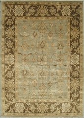 Eastern Weavers Turkish Treasures Light Blue Brown Persian Rug