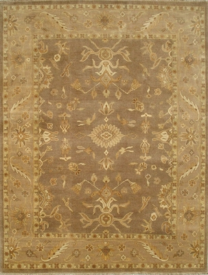 Eastern Weavers Turkish Treasures Persian Rug in Light Brown Beige