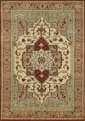 Eastern Weavers Turkish Treasures Persian Wool Rug - Ivory Beige