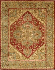 Eastern Weavers Turkish Treasures Red Medium Blue Persian Rug