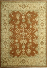 Eastern Weavers Turkish Treasures Rust Beige Wool Rug