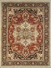Eastern Weavers Turkish Treasures Rust Charcoal Persian Rug
