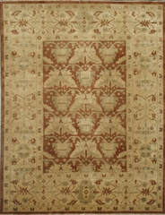 Eastern Weavers Turkish Treasures Rust Ivory Hand Knotted Persian Rug