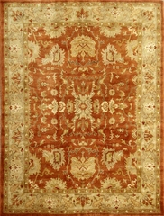Eastern Weavers Turkish Treasures Rust Light Gold Persian Rug