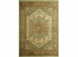 Eastern Weavers Turkish Treasures Wool Ivory Rust Persian Rug