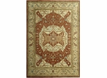 Eastern Weavers Turkish Treasures Wool Persian Rug - Rust Beige