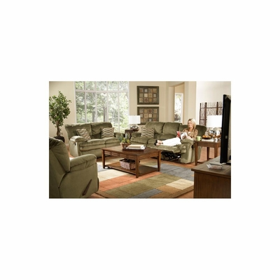 Easton Sage Motion Living Room Set - 3pc - Catnapper