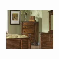 Eastport Toasted Oak 5 Drawer Chest - Largo - LARGO-ST-B1055-30