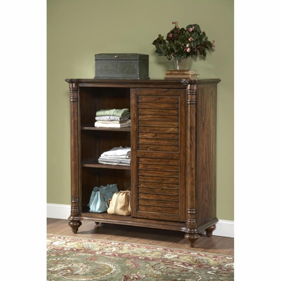 Eastport Toasted Oak Door Chest - Largo - LARGO-ST-B1055-72