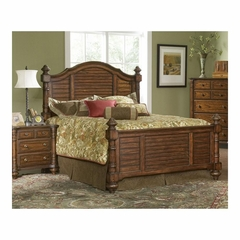 Eastport Toasted Oak Wood Bed - Largo - LARGO-ST-B1055-X1