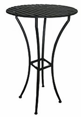 Easy to Assemble Iron Bar Table - Black - Pangaea Home and Garden Furniture - FM-C4460-K
