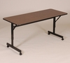 EconoLine Flip Top Table with Melamine Top - Correll Office Furniture - FT2448M
