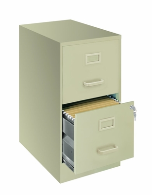 Economical Home Office Two Drawer File - Hirsh Industries - 13246