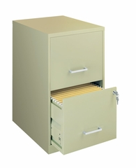 Economical Home Office Two Drawer File - Hirsh Industries - 14340