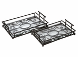 Eden Trays (Set of 2) - IMAX - 12649-2