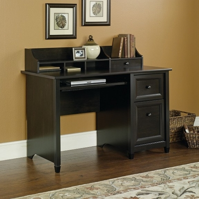 Edge Water Computer Desk Estate Black - Sauder Furniture - 409043