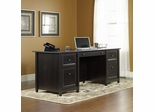 Edge Water Executive Desk Estate Black - Sauder Furniture - 409042