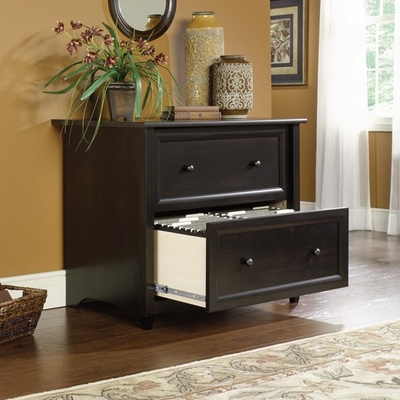 Edge Water Lateral File Estate Black - Sauder Furniture - 409044