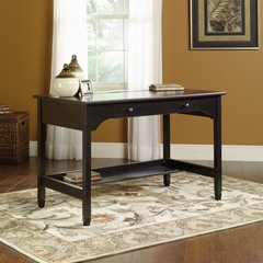 Edge Water Mobile Lifestyle Writing Desk Estate Black - Sauder Furniture - 409045