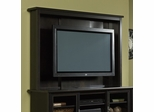 Edge Water TV Wall Mount with Bracket Estate Black - Sauder Furniture - 409049