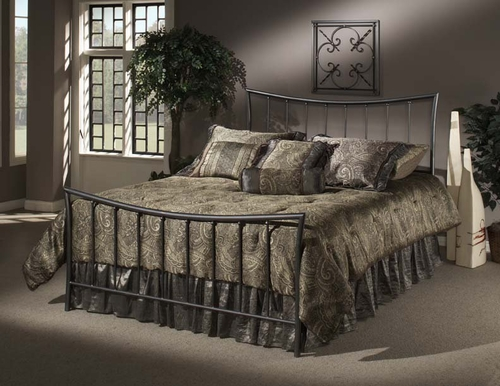 Edgewood Twin Size Bed with Trundle Unit - Hillsdale Furniture - 1333BTWHTR