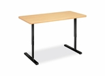 Education Workstation - Natural Maple/Black - HONED2448NDPD