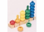 Educational Toy - 1-2-3-4-5 Ring Counter - Guidecraft - G2011
