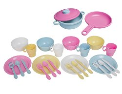 Educational Toy - 27 Piece Kitchen Playset - KidKraft Furniture - 63027