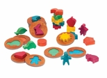 Educational Toy - 3D Feel and Find World Icons in Multi - Guidecraft - G6708