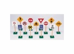 "Educational Toy - 7"" Traffic Signs (13/set) - Guidecraft - G309"