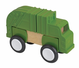 Educational Toy - Block Mates Construction Vehicles in Multi - Guidecraft - G7605