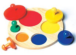 Educational Toy - Circle Sorter - Guidecraft - G526