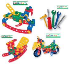 Educational Toy - Construct-it 321 Pcs Set - Guidecraft - G16822