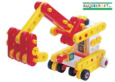 Educational Toy - Construct-it Early Builder - Guidecraft - 160 Pcs - G16802