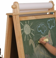 Educational Toy - Deluxe Wood Easel - KidKraft Furniture - 62005