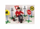 Educational Toy - Drive-time Signs (Set Of 6) - Guidecraft - G3060