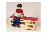 Educational Toy - Easy-view Storage Bench - Guidecraft - G6419