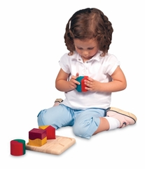 Educational Toy - Fraction Pairs in Multi - Guidecraft - G6706