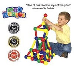 Educational Toy - Magneatos 144 Pcs - Guidecraft - G8102
