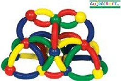Educational Toy - Magneatos Curves - 50 Pcs - Guidecraft - G8104