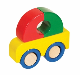 Educational Toy - Primary Puzzles Car in Multi - Guidecraft - G2022