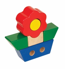 Educational Toy - Primary Puzzles Flower in Multi - Guidecraft - G2020